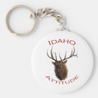 Idaho Attitude Keychain