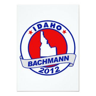 Idaho Bachmann Personalized Invitation