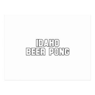 Idaho Beer Pong Post Card