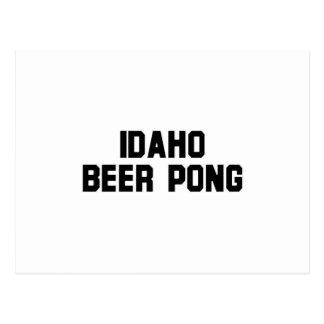 Idaho Beer Pong Postcards