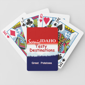 IDAHO BICYCLE PLAYING CARDS