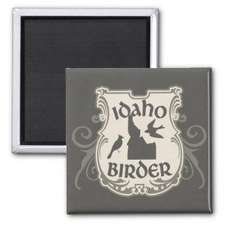 Idaho Birder 2 Inch Square Magnet