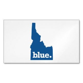 IDAHO BLUE STATE MAGNETIC BUSINESS CARD