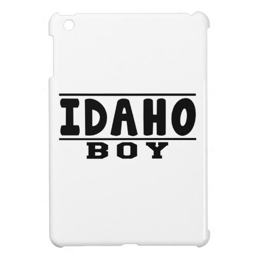 Idaho Boy Designs iPad Mini Covers