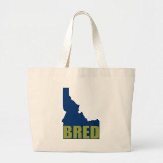 Idaho Bred Large Tote Bag