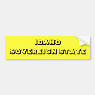 IDAHO BUMPER STICKER