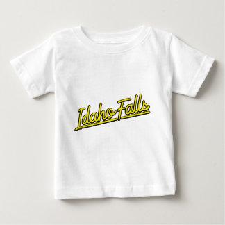 Idaho cae en amarillo playera para bebé