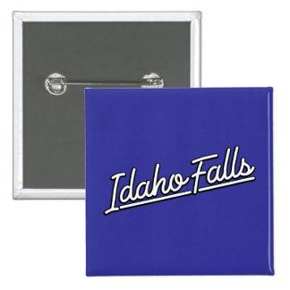 Idaho cae en blanco pin