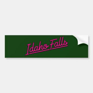 Idaho cae en magenta pegatina para auto