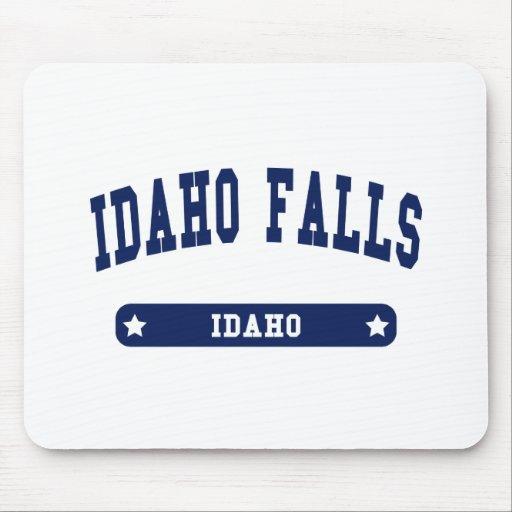 Idaho cae las camisetas del estilo de la universid alfombrilla de ratón