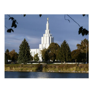Idaho cae templo de Idaho LDS Tarjetas Postales