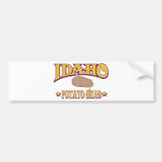 Idaho Pegatina De Parachoque