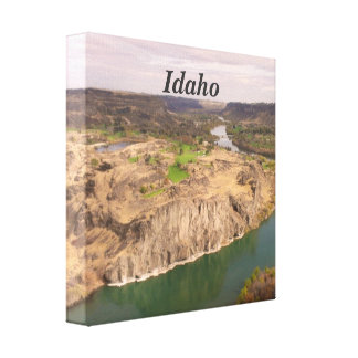 Idaho Gallery Wrapped Canvas