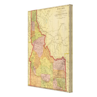 Idaho Stretched Canvas Prints