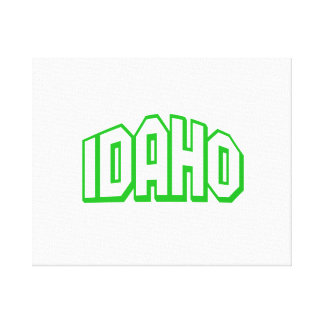 Idaho Stretched Canvas Print