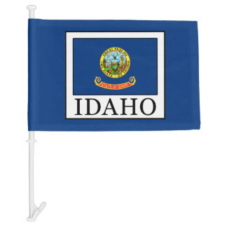 Idaho Car Flag