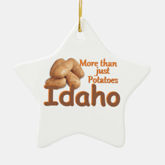IDAHO CERAMIC ORNAMENT