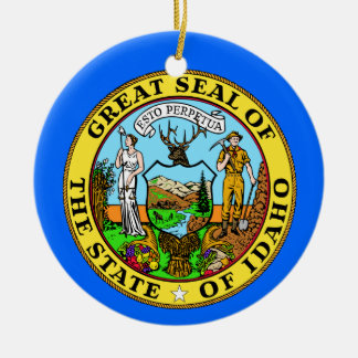 Idaho* Christmas Ornament