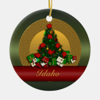 Idaho Christmas Tree Ornament
