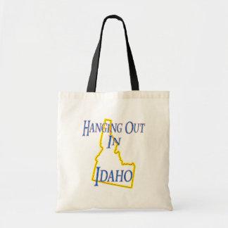 Idaho - colgando hacia fuera bolsa lienzo