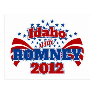 Idaho con Romney 2012 Postal