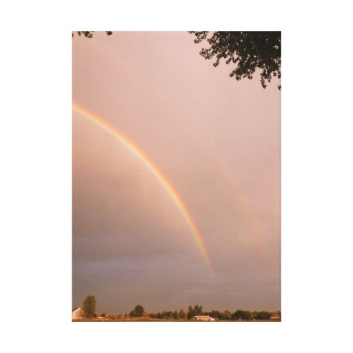 Idaho Country Rainbow Canvas Print
