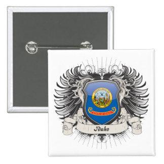 Idaho Crest Pinback Button