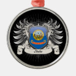 Idaho Crest Christmas Ornament