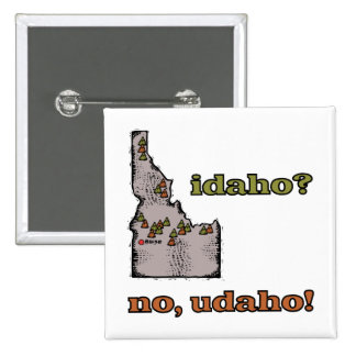 ~ Idaho del lema de la identificación los E.E.U.U. Pin