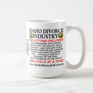Idaho Divorce Industry. Mugs