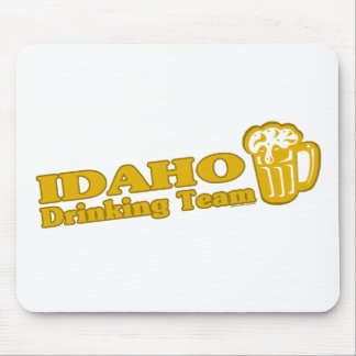 Idaho Drinking Team t shirts Mouse Pads