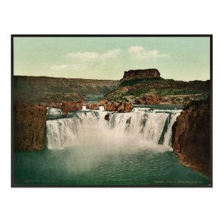 Idaho. El Shoshone se cae Photochrom raro Tarjetas Postales