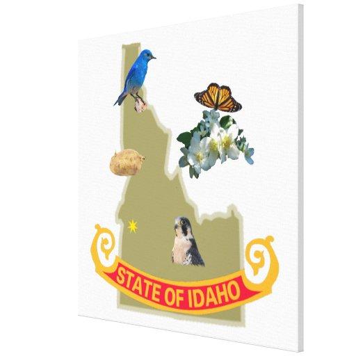 """Idaho envolvió la lona 30X30 """" Impresiones De Lienzo"""