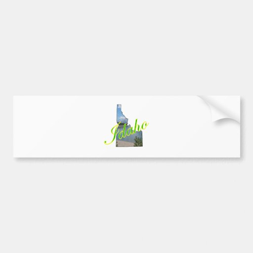 Idaho Etiqueta De Parachoque