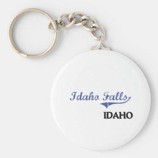 Idaho Falls Idaho City Classic Keychain