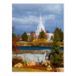 Idaho Falls Idaho LDS Temple Postcard