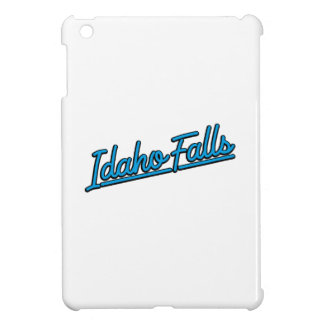 Idaho Falls in cyan Case For The iPad Mini