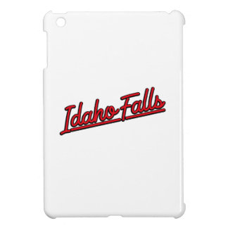 Idaho Falls in red Case For The iPad Mini