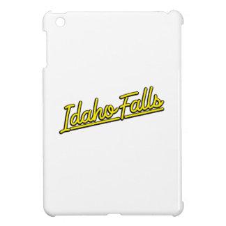 Idaho Falls in yellow iPad Mini Cover
