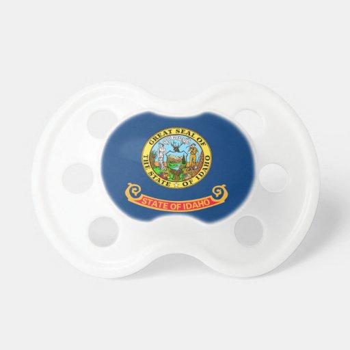 Idaho Flag Booginhead Pacifier
