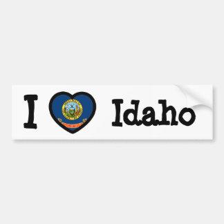 Idaho Flag Bumper Sticker