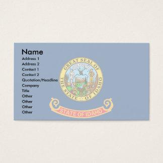 Idaho Flag Business Card