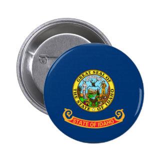 Idaho Flag Pinback Buttons