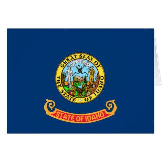 Idaho Flag Card