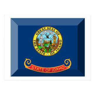 Idaho Flag Gem Postcard