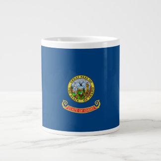 Idaho Flag Giant Coffee Mug