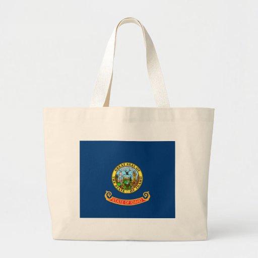 Idaho Flag Jumbo Tote Bag