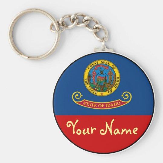 Idaho-  FLAG Keychain