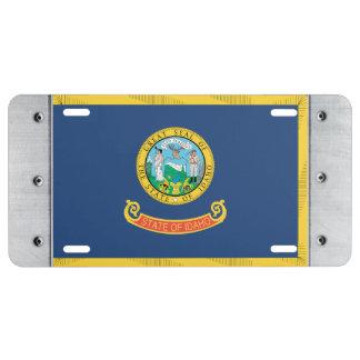IDAHO Flag - License Plate