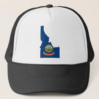Idaho Flag Map Trucker Hat